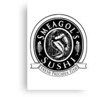 Smeagols Sushi - Fresh Precious Fish Canvas Print