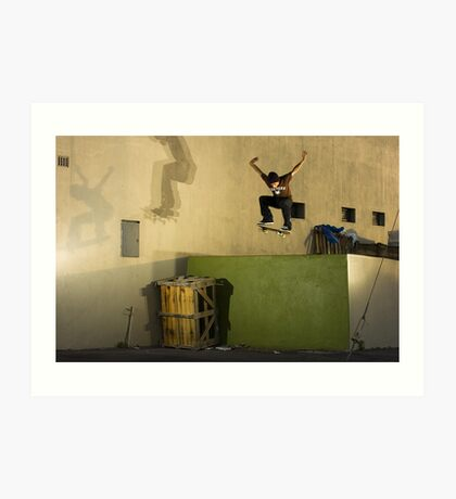 Jean-Marc Johannes, Switch 180 off Loading Dock, Cape Town, South Africa Art Print