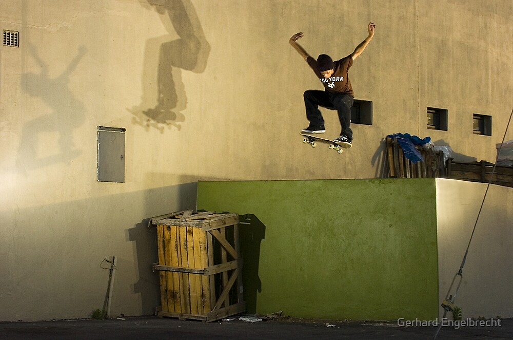 Jean-Marc Johannes, Switch 180 off Loading Dock, Cape Town, South Africa by Gerhard Engelbrecht