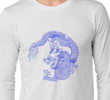 Asian Art Chinese Dragon Long Sleeve T-Shirt