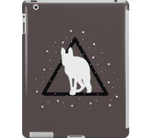 edited mammal in a triangle iPad Case/Skin