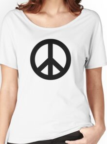 Electric Peace Women's Relaxed Fit T-Shirt