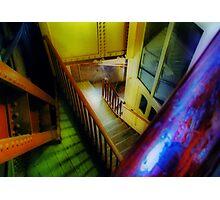 Coloured Angles Photographic Print