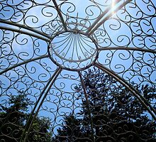 Wrought Iron Gazebo View ^ by ctheworld