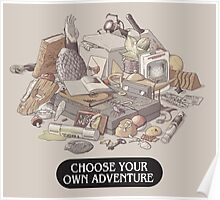 Choose your own Adventure Poster