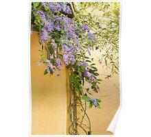 Purple Wreath Profusion Poster