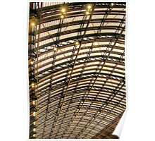 St Pancras Station Roof Poster