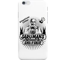 Sarumans School Of Sorcery iPhone Case/Skin
