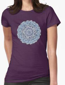 Indigo Medallion with Butterflies & Daisy Chains T-Shirt
