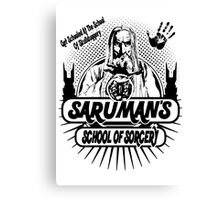 Sarumans School Of Sorcery Canvas Print