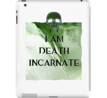 I am Death iPad Case/Skin