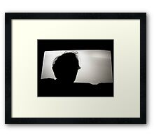 Silver Screen Framed Print