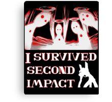 Second Impact Survivor Canvas Print
