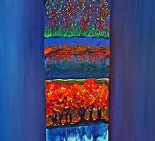 Four seasons  by Nicole Tang Yin Leow