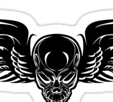 Flying Death Sticker