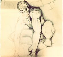 Vintage spider by gypsyrosere