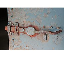 """Door Latch"" Photographic Print"