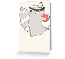 Raccoon - thief Greeting Card