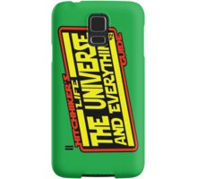 Hitchhiker's Guide Strikes Back Samsung Galaxy Case/Skin