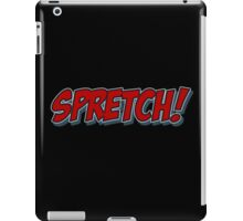 Red Spretch! iPad Case/Skin