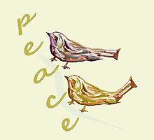 Peace 2 by Thecla Correya
