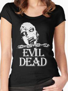 Vintage Evil Dead Women's Fitted Scoop T-Shirt