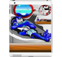 Kid Soldier-Vashton Reading and Relaxation in his Boat house. iPad Case/Skin