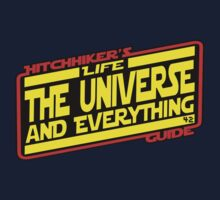 Hitchhiker's Guide Strikes Back Kids Tee