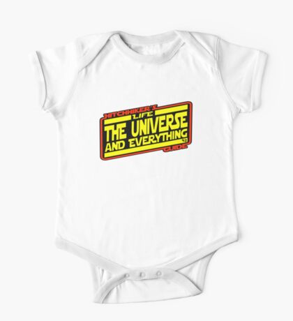 Hitchhiker's Guide Strikes Back One Piece - Short Sleeve