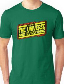 Hitchhiker's Guide Strikes Back Unisex T-Shirt