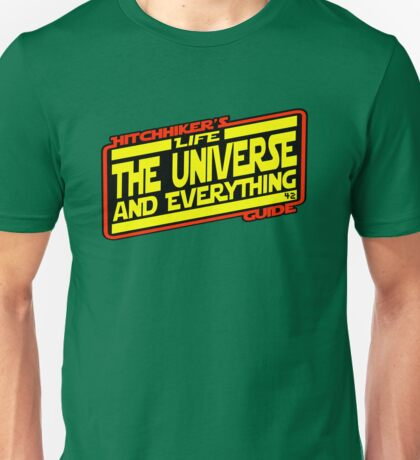 Hitchhiker's Guide Strikes Back Unisex T-Shirt