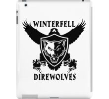 Winterfell Direwolves iPad Case/Skin
