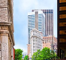 History Surpassed - The Atlanta Flatiron Building by Mark Tisdale