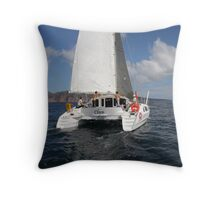 Where's the wind? Throw Pillow