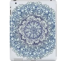 Indigo Medallion with Butterflies & Daisy Chains iPad Case/Skin