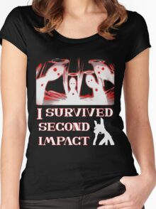 Second Impact Survivor Women's Fitted Scoop T-Shirt