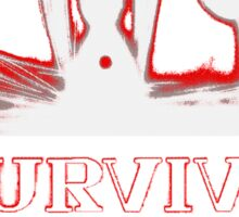 Second Impact Survivor Sticker