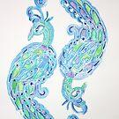 Peacock by Kay Clark