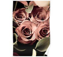 Aged Roses - I Poster