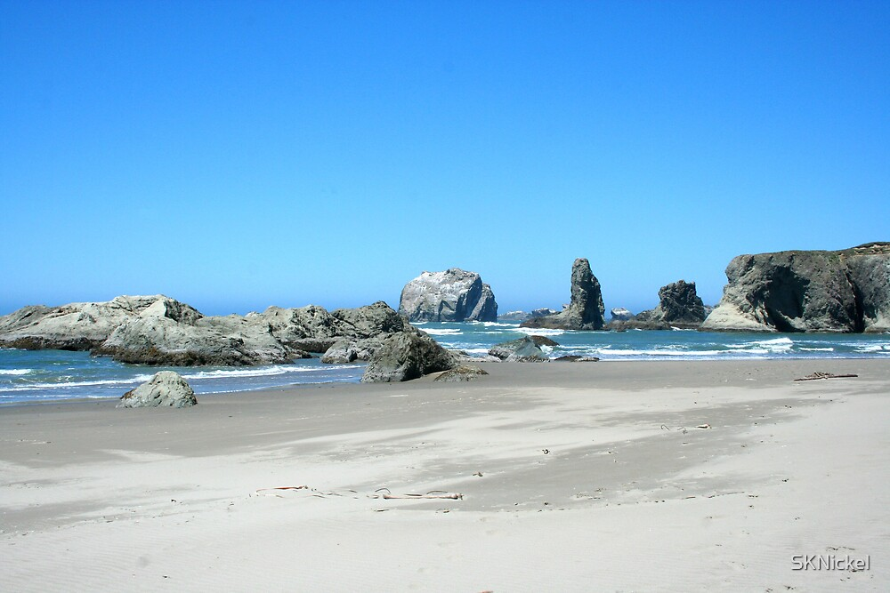 Beach at Face Rock by SKNickel