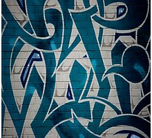 Graffiti Grabs Me Photographic Print