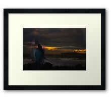 Vibration Series... Vibration of US Framed Print
