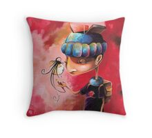 Ugly Gets The Girl Throw Pillow