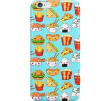 Kawaii Foods Pattern iPhone Case/Skin