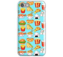 Kawaii Foods Pattern iPhone Case/Skin