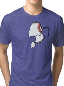 Pocket Donna Tri-blend T-Shirt