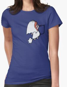 Pocket Donna Womens Fitted T-Shirt