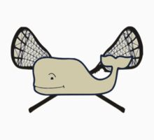 Whale and Lacrosse Sticks by Csturges07