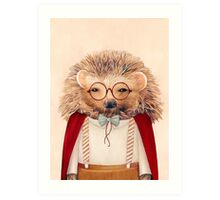 Harry Hedgehog Art Print