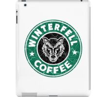 Winterfell Coffee iPad Case/Skin